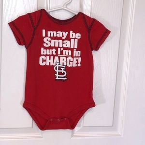 St. Louis Cardinals Baby 12 Mo boy or girl Onesies